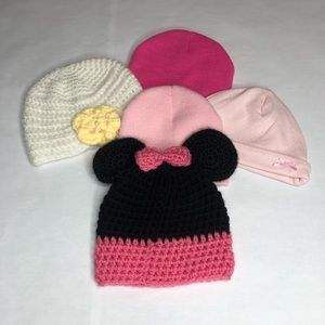 0-12 months baby hat lot